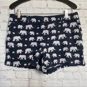 LOFT The riviera shorts in elephant Print